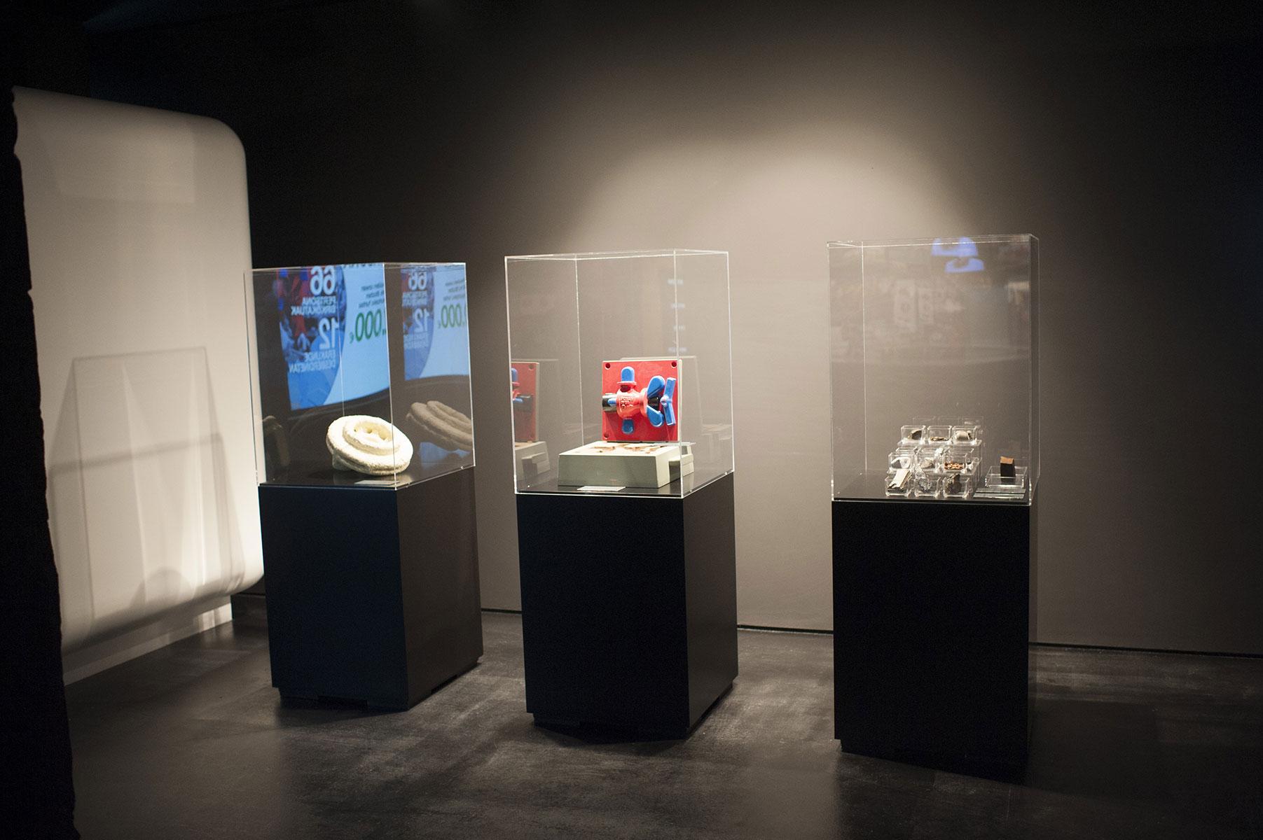Material-displays